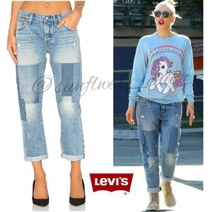 🆕️Levi's 501ct Stacked Patch Jeans
